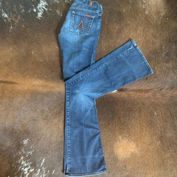 "7 For All Mankind Denim - Seven jeans ""A"" pocket"